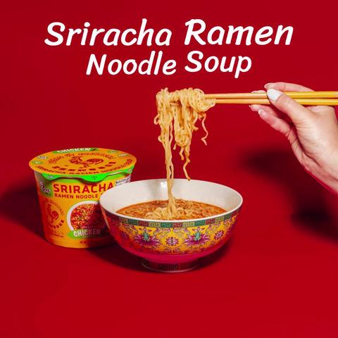 Sriracha Ramen Noodle