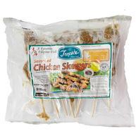 Tropcis Seasoned Chicken Skewers Monster Garlic (20 Oz)