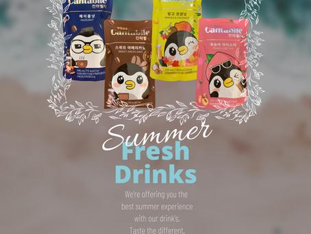 Cantabile Summer's Drinks