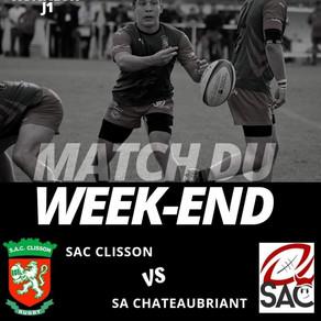 [SENIORS - J1] - 20200927 - Résumé de SAC Clisson vs SA Chateaubriant