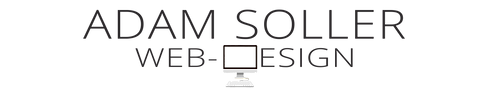 Adam Soller Web Design Very Narrow Logo.