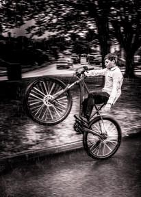 Boy on bike during Lockdown 2020 - Adam Soller Photography