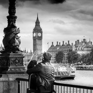 London Photo Taxi Tour - Big Ben - Engagement Photo Shoot