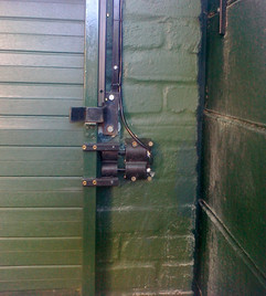 A Sliding Gate Inline contact Fitted to a Sliding Gate