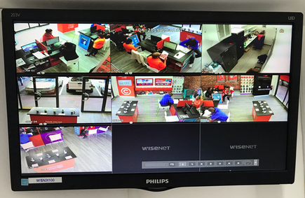 HD Cameras on Screen CELL-C Store