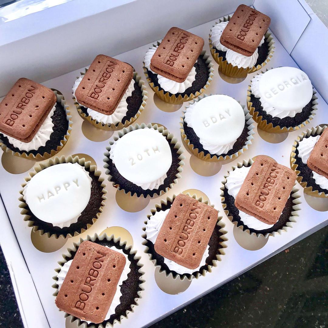Chocolate Mud w/ Cookies and Cream Buttercream