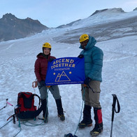 On Mt Baker, our 1st climb