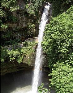 El Salto de San Antón, cascada