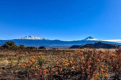 Popocatépetl, Iztaccíhuatl, México, volcanes