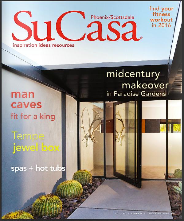 Featured In Su Casa Magazine
