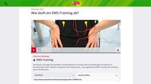 Quicktipp im Jump Radio: Wie läuft ein EMS-Training ab?