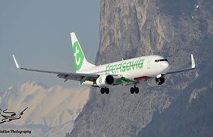 Landung einer B737-800