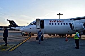Deboarding RJ-100