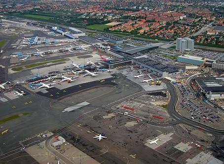 Kastrup Flughafen im Transit