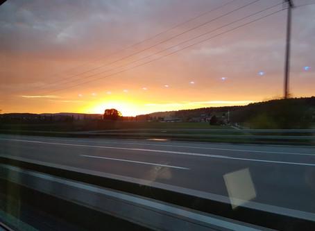 Auf dem weg von Zürich nach Hamburg