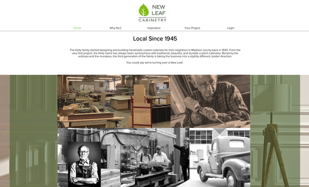 Website: New Leaf Cabinetry