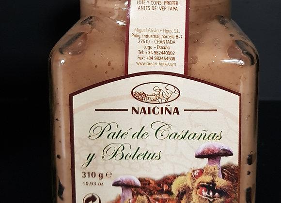 PATÉ DE CASTAÑAS Y BOLETUS (NAICIÑA)