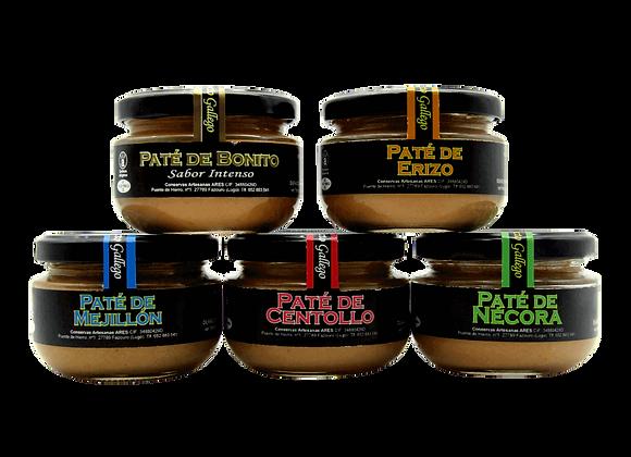 PATÉ BONITO Y MEJILLÓN DE ARES