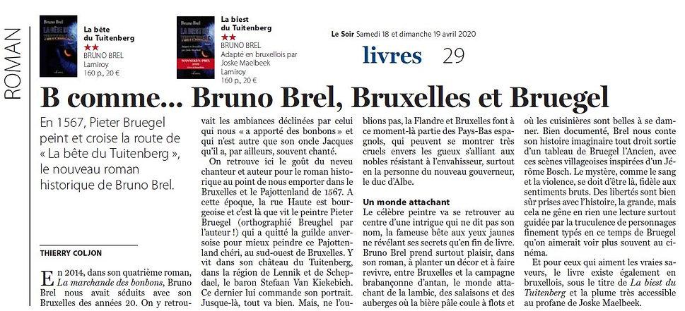 BB Article de Thierry Coljon - Le Soir.j