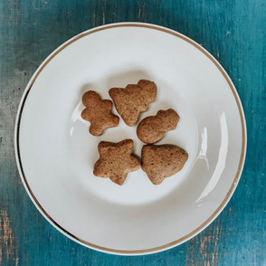 Paleo Graham Cracker Cookies