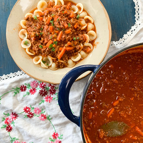 Red Wine Bolognese
