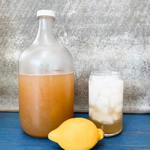 Probiotic Lacto-Fermented Lemonade
