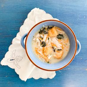 Butternut Gnocchi Chicken Soup