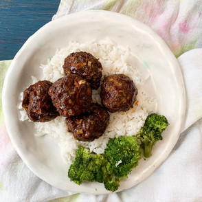 BBQ Ranch Meatballs