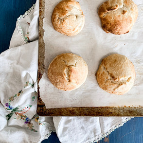Soaked Buttermilk Biscuits
