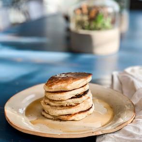 Kefir Soaked Pancakes