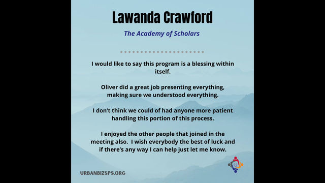 Testimonials To Our Workshops- P.3