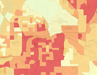 GIS Mapping- Tacoma Communities Suscepti