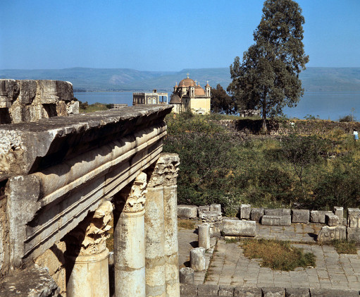 Capernaum area and Sea of Galilee, db680
