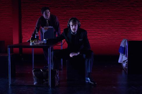 (L-R) James Clements and Sam Hood Adrain | photo by Pablo Calderón Santiago (c) WWTNS