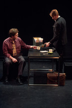 (L-R) James Clements and Sam Hood Adrain   photo by Pablo Calderón Santiago (c) WWTNS