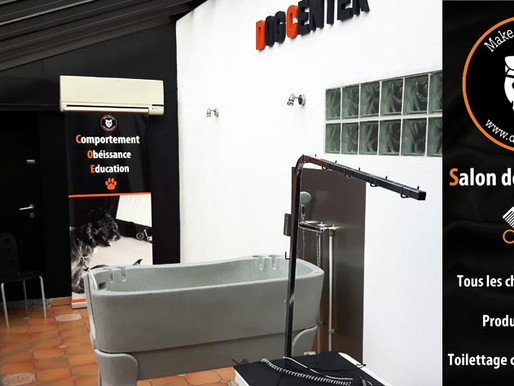 Toilettage : Nouveau salon ! Nouvelle toiletteuse ! Promos de lancement !
