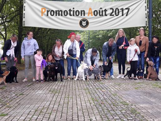 Collectif chiots : Promo août 2017 !