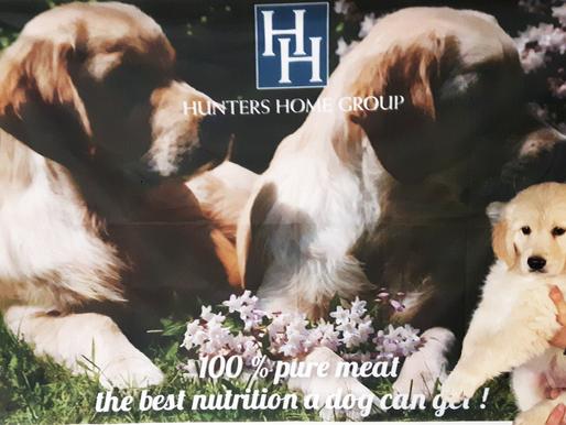 Hunters Home, la meilleure alimentation pour chien!