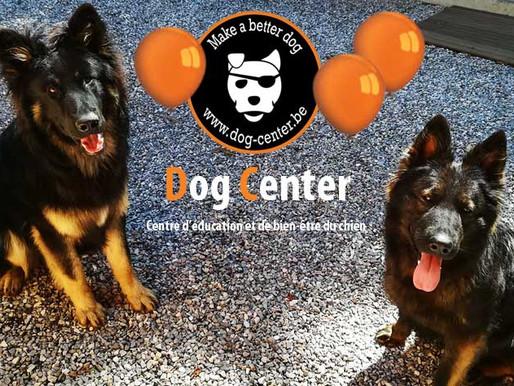Dog Center : 3 ans déjà ! Bon anniversaire !