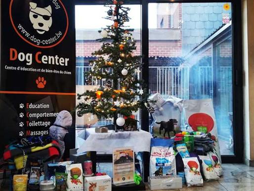 Récolte de Noël au profit de la SPA de Charleroi !