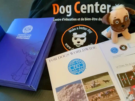 FCI et Dog Center, le début d'une belle aventure !