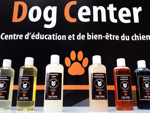 Promo de l'été : les shampoings du Dog Center !