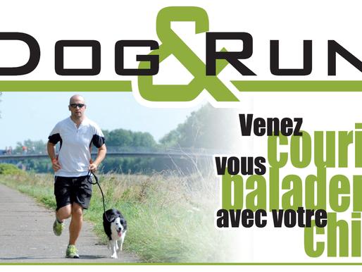 Venez courir ou vous balader avec votre chien!