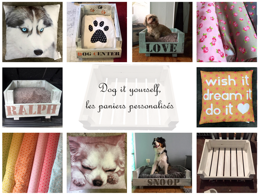 Dog it Yourself, les paniers personnalisés : disponibles au Dog-Center!