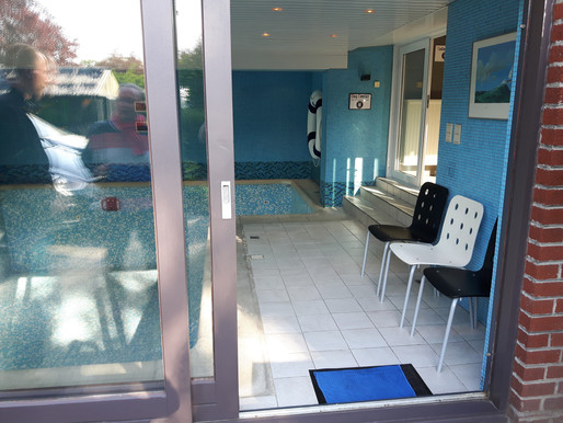 Une piscine... pour chien à Charleroi!