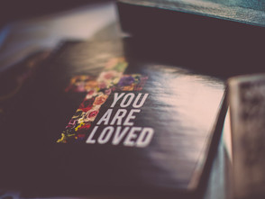 """""""because He loves us, He remains where He is""""...quite possibly the hardest thing I have ev"""