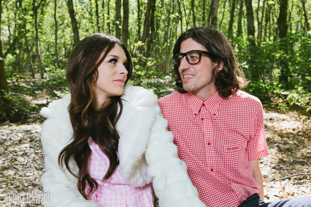 Couple in Gingham