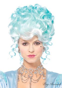 Pastel Powdered Wig
