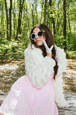Classy faux fur coat