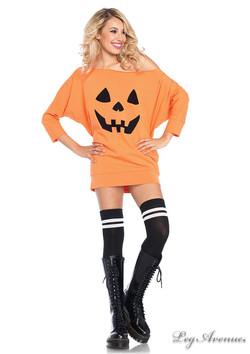 Jersey Pumpkin Dress
